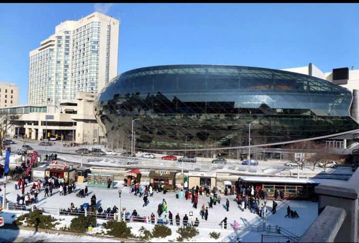 Shaw Center and Rideau Canal
