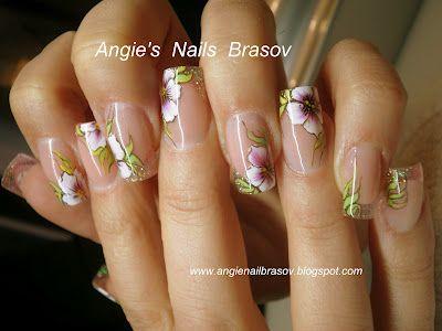 Angie's Nails Brasov: Unghiute de primavara ,portelan Nfu Oh ,2012