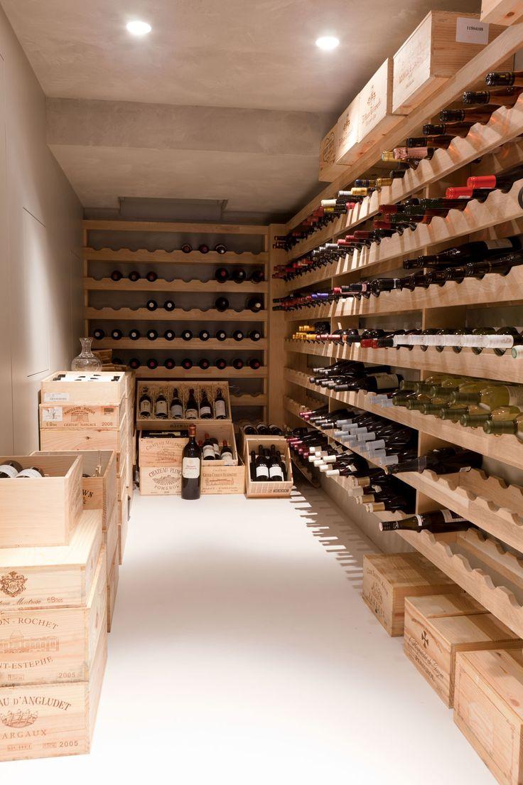 cantina wine dedicata vini idee ai cellar wijnkelder dettagli cellars arredare remy meijers basement cave cabinets vin italian caves stadsvilla