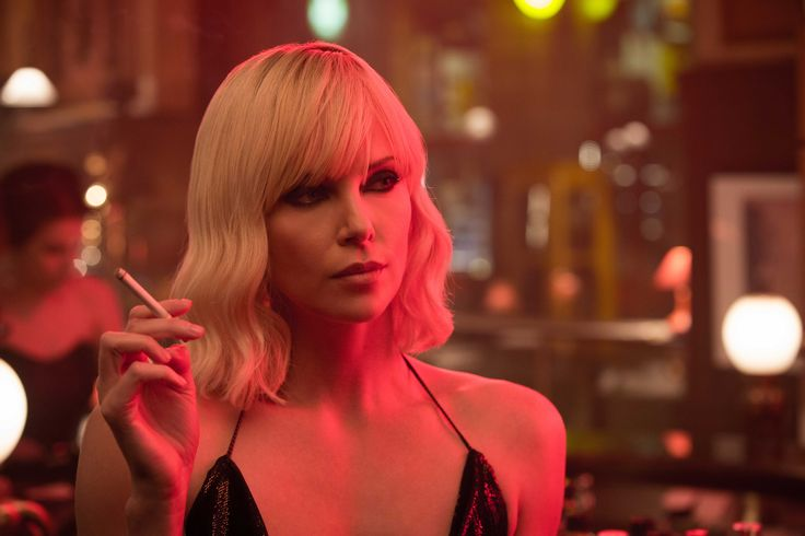 Charlize Theron goes Atomic   Atomic Blonde   In Theaters July 28