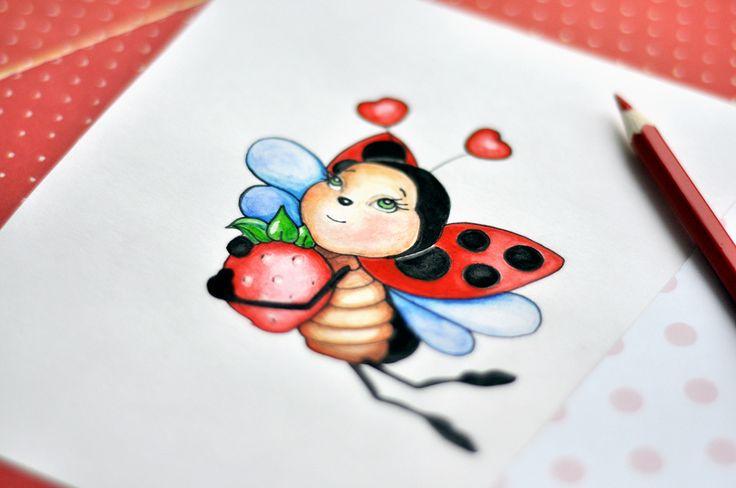 """Ознакомьтесь с моим проектом @Behance: «Акварельный логотип """"BerryBasket""""» https://www.behance.net/gallery/50440375/akvarelnyj-logotip-BerryBasket"""