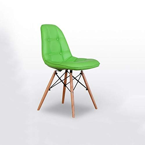 Cool Chx Solid Wood Leather Dining Chair Simple Modern Backrest Beatyapartments Chair Design Images Beatyapartmentscom