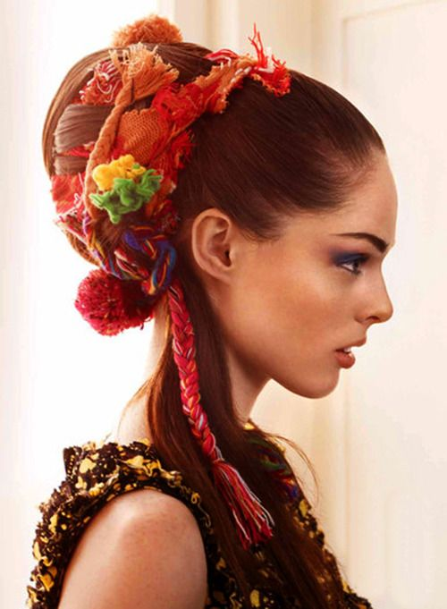 Coco Rocha by Alex Cayley for Allure