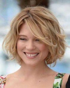 Strahlende einfache Frisuren für mittellanges Haar mit weichen Wellen! - Neue Frisur