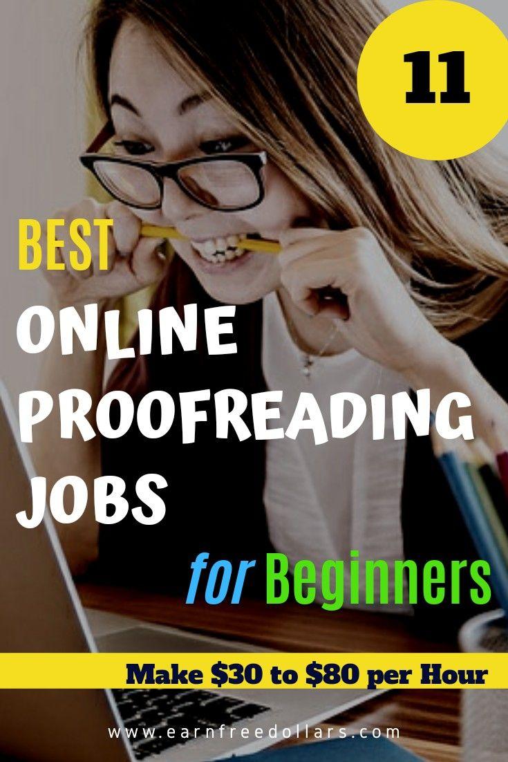 Best Online Proofreading Jobs for Beginners