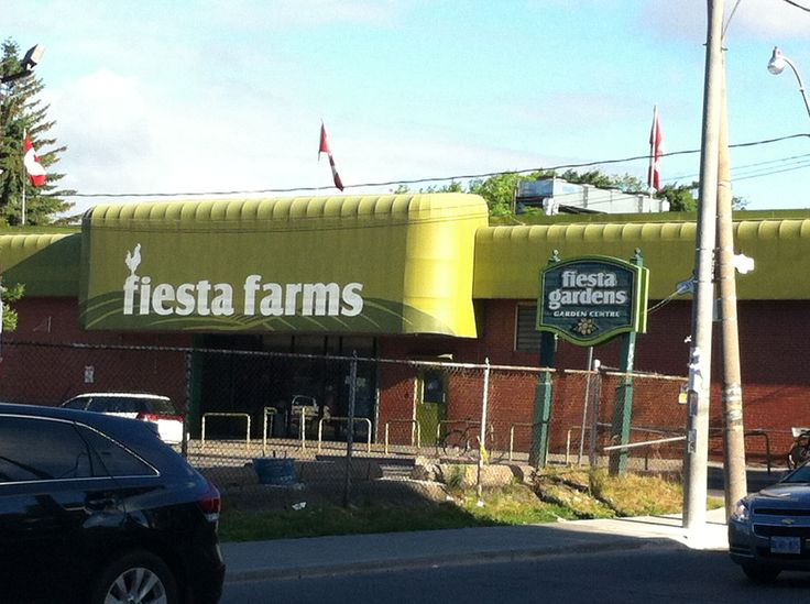 Fiesta Farms. Toronto's largest independently owned grocery store and garden centre.