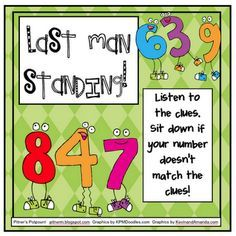 Place Value -Last Man Standing Game /CCS Gr 2, but can be adapted to other grade quite easily. Great for interpreting place value
