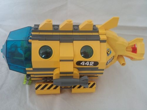 My Yellow Submarine : A LEGO® creation by Morthen P : MOCpages.com