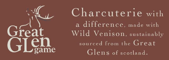 Great Glen Game - venison charcuterie