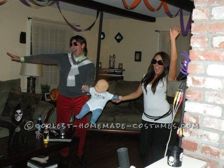 Cool Last-Minute Halloween Couple Costume: Kourtney And