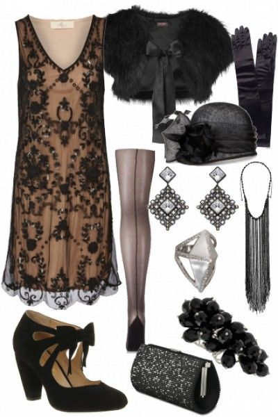Gorgeous The Great Gatsby inspired outfit