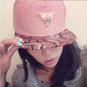 Hermosa gorra rosa