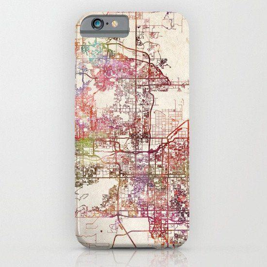 Phoenix Arizona Map iphone case, smartphone