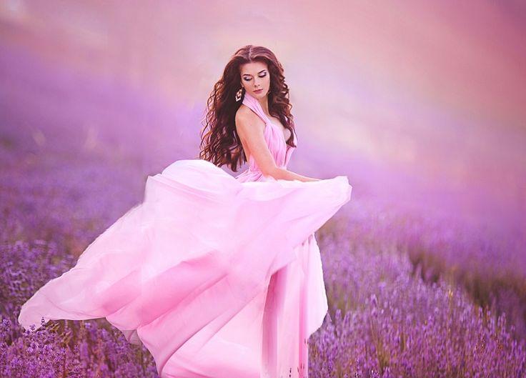 Бесконечная нежность и женственность! Модные розовые платья 2017-208