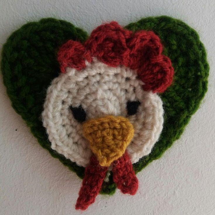 Crochet chicken kitchen