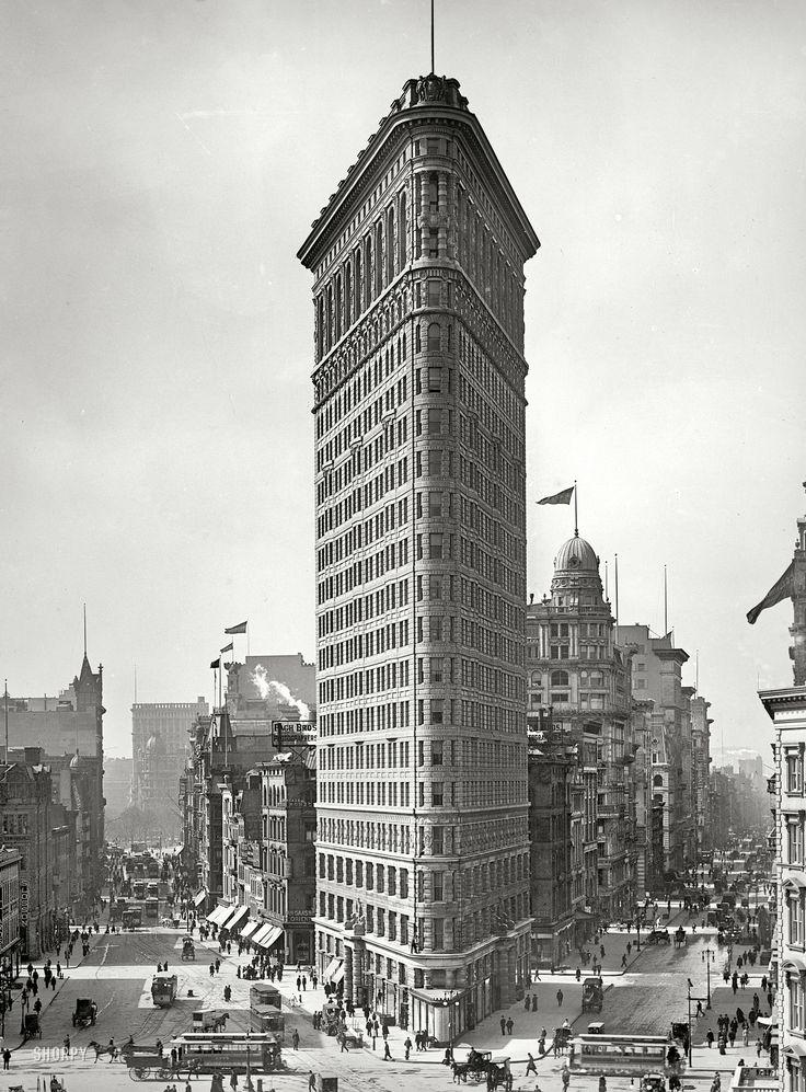The Flatiron Building: 1903 – Vintagraph