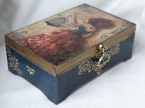 Złota szkatułka