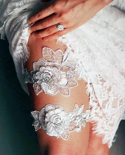 Bruids Kousenband instellen bruiloft kousenbanden Keepsake