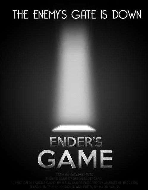 The enemy's gate is down. - Enders Game