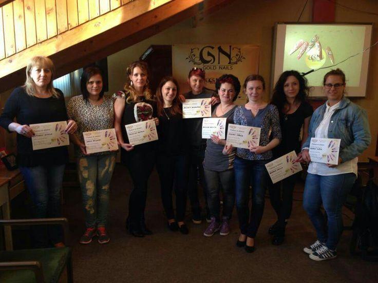 Gold Nails Romania - Education 2015 May