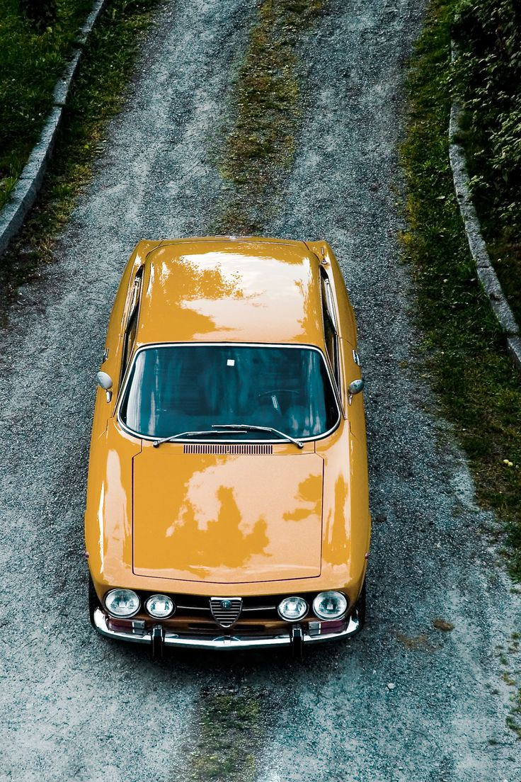 Hit the road, Alfa! The Alfa Romeo 1750 GTV chews up the gravel. #RePin by AT Social Media Marketing - Pinterest Marketing Specialists ATSocialMedia.co.uk