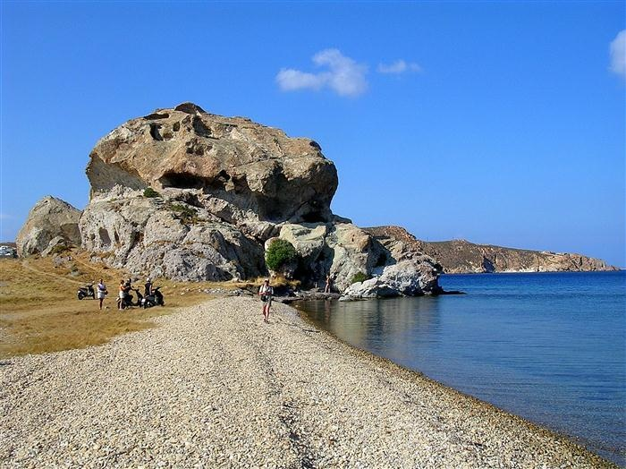Patmos still maintains beautiful and virgin beaches