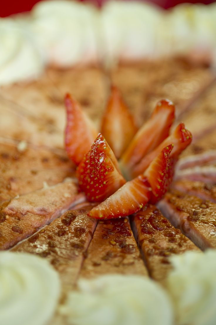 Strawberry Cream Gateaux