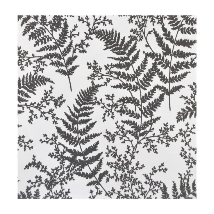 Magnolia Home by Joanna Gaines 56 sq.ft. Forest Fern Wallpaper, Gray