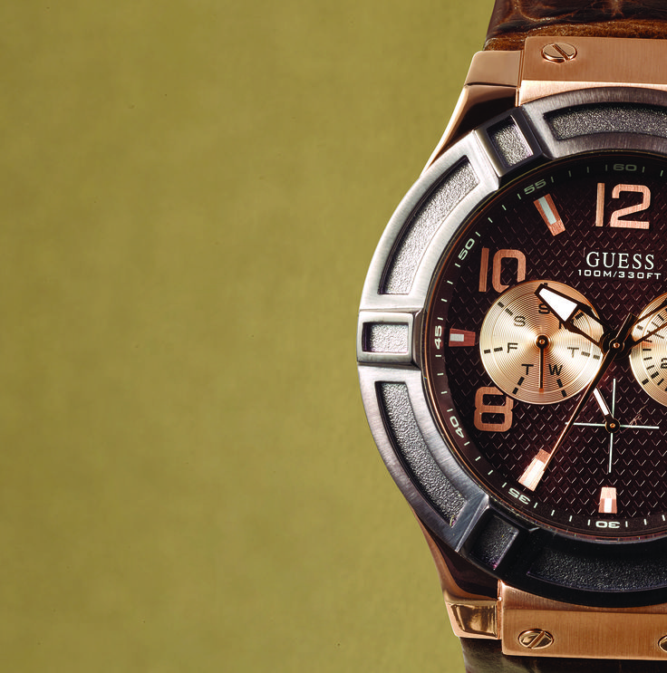 Guess watch - available at selected Sterns stores