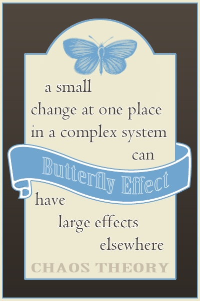 Butterfly Effect - chaos theory