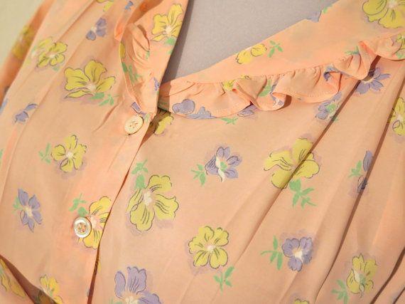 Nostalgic nightgown – robe - nightdress