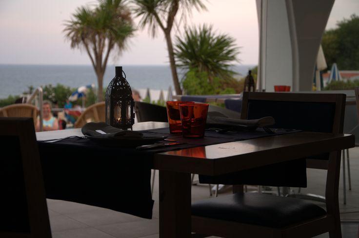 Oura View Beach Club #sunset #restaurant #seaview #portugal