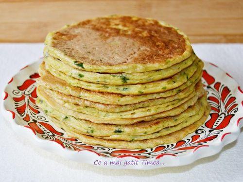 Pancakes cu dovlecel - imagine 1 mare