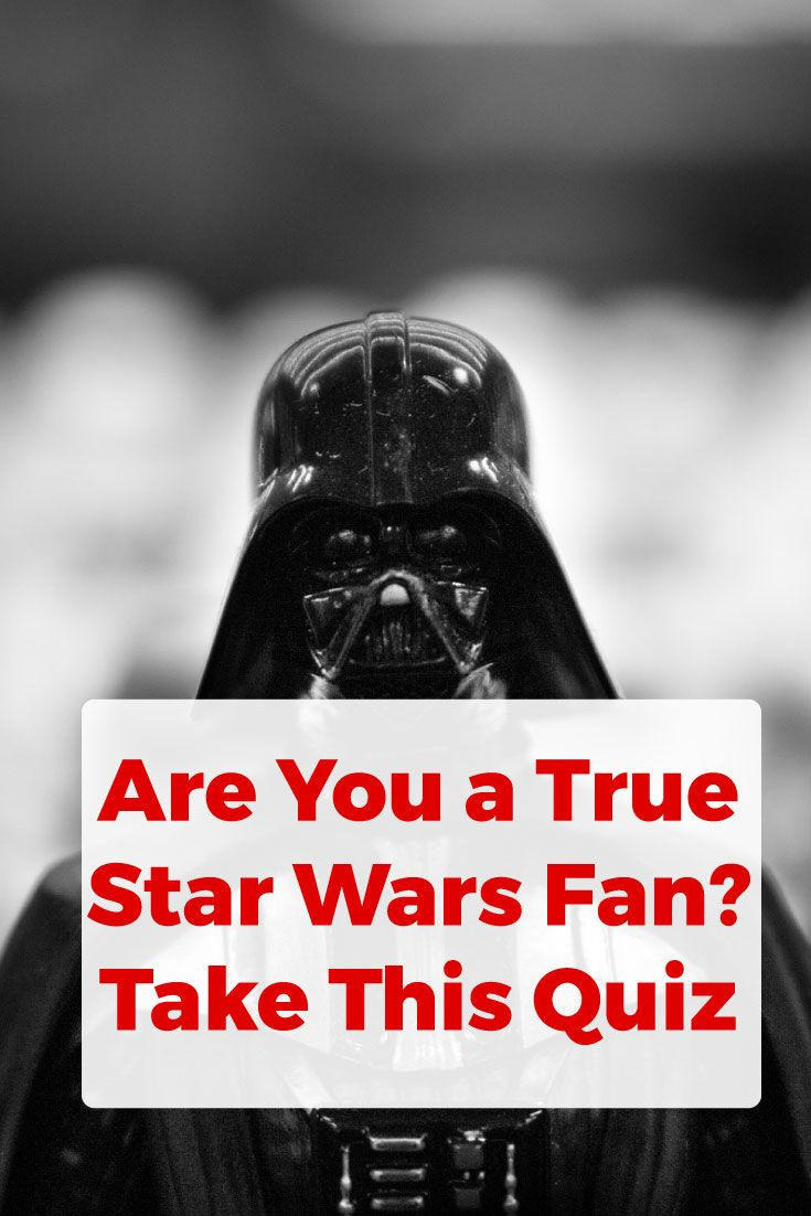 Take on this quiz and learn if the force is strong with you.