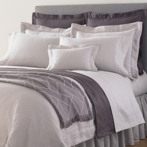 Bed linens...real-linen bed linens--there's nothing quite like it, and it should be experienced! Your forefathers slept on real linen. Discover the dreamy heritage of our fine Classico linen.