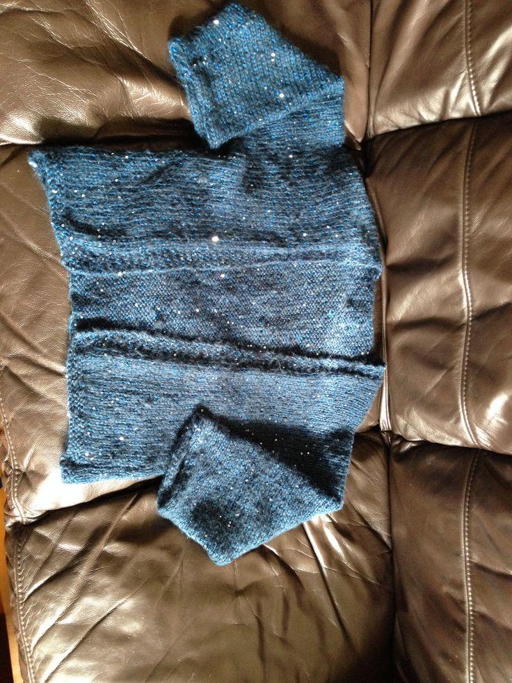Knitted shrug