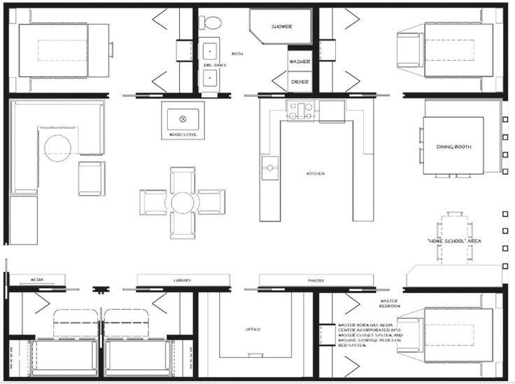 Isbu homes are ok acre house and layout - Container home plans for sale ...