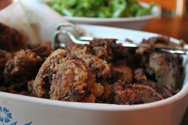 Crispy Southern Fried Chicken Livers