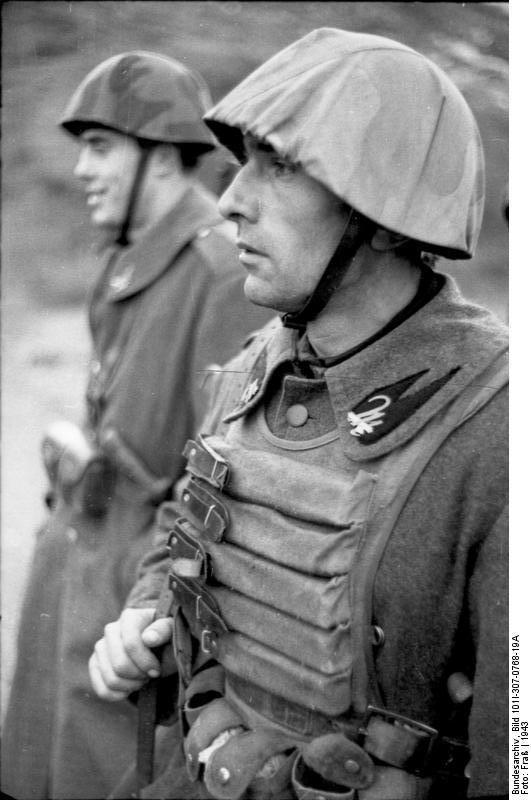 Italian R.S.I. soldier
