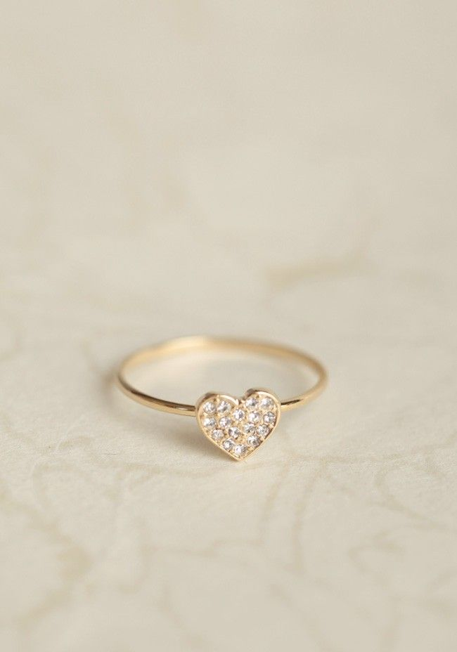 Valentine Heart Ring | Modern Vintage New Arrivals