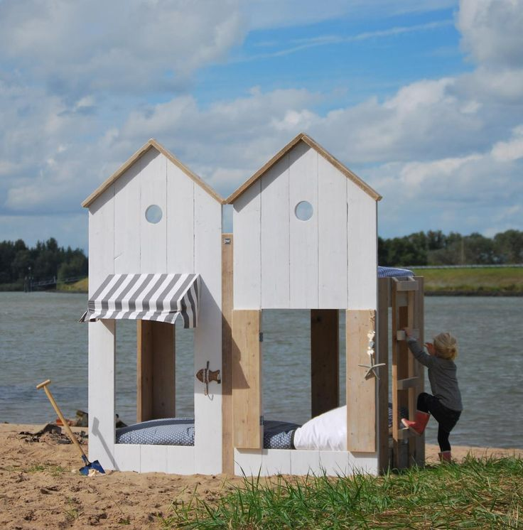 Beach house childrens bed by saartje prum