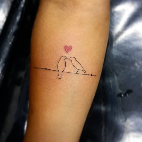 Imagens de tatuagens delicadas para pássaros femininos   – Tattoo Ideen