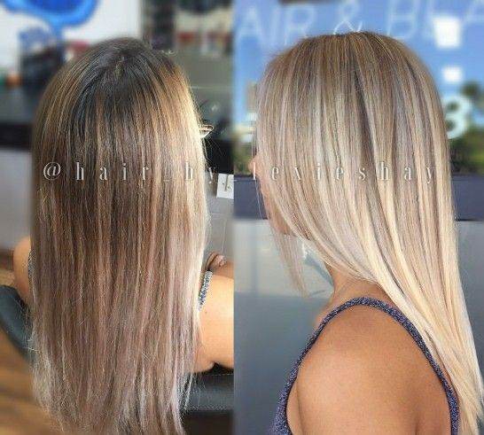Blonde Balayage Makeover