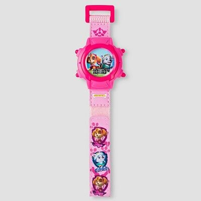 Kids Paw Patrol Digital Watch - Pink, Girl's
