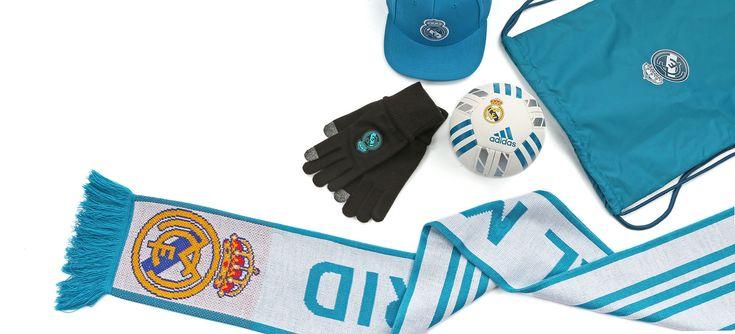Complementos y Merchandising del Real Madrid. Foto: Marcela Sansalvador para futbolmania.com
