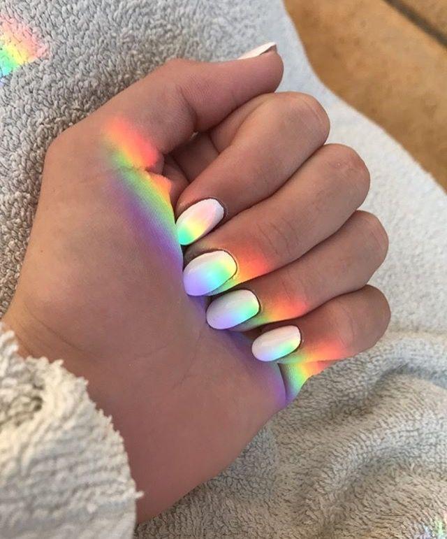 Art Hoe Aesthetic Nails