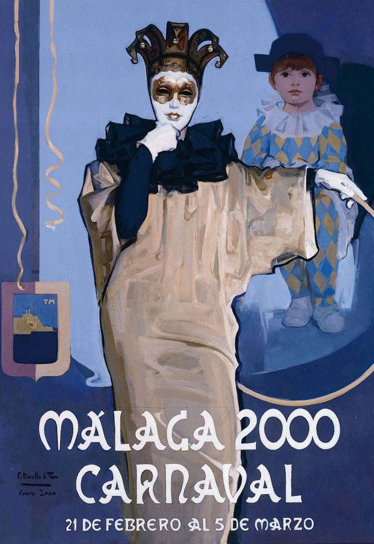 Cartel Carnaval 2007 - MUSEO REVELLO DE TORO