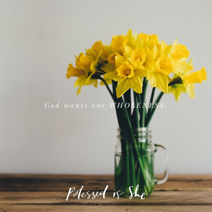 Being Whole | Blessed is She daily devotional for Catholic women