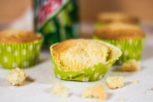 Recept: Mountain Dew cupcakes