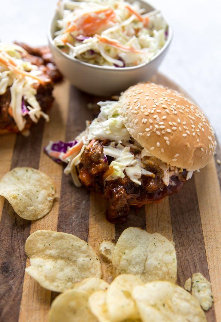 BBQ Braised Short Rib Sloppy Joes - KJ & Company